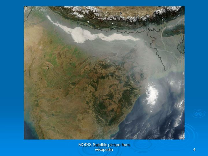 MODIS Satellite picture from wikepedia