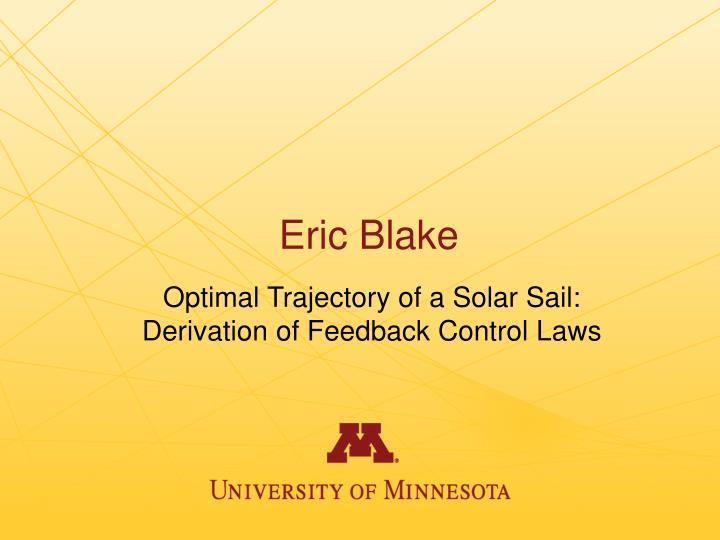 Eric Blake