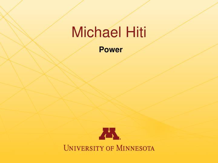 Michael Hiti