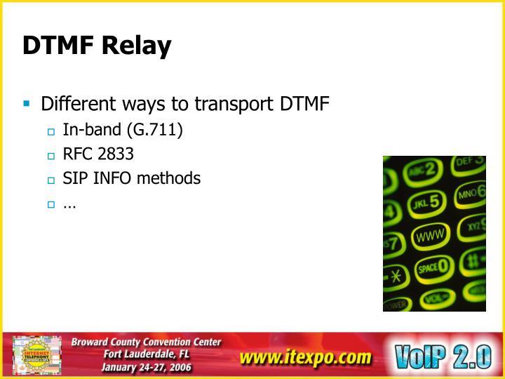 DTMF Relay