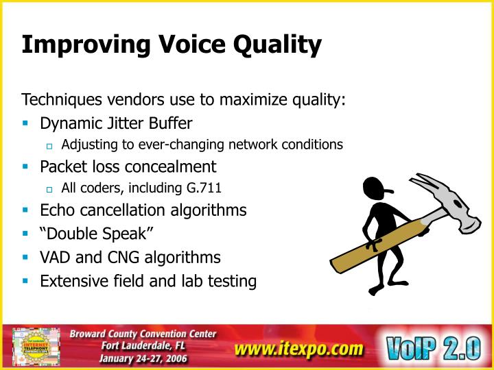 Improving Voice Quality