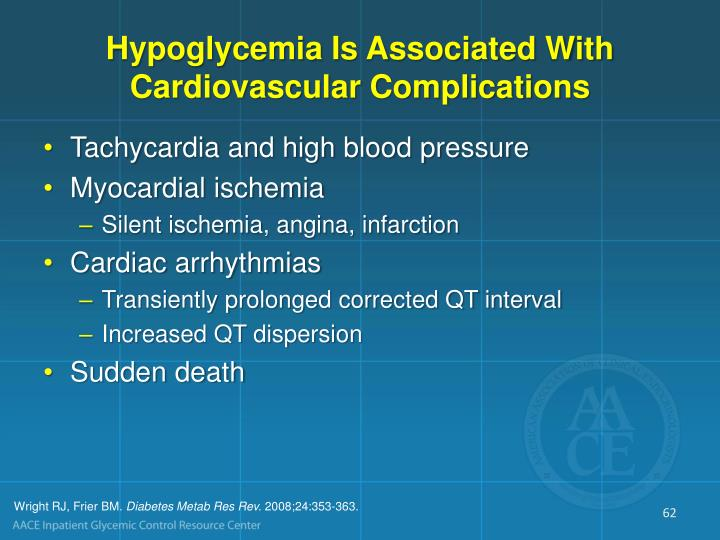 Hypoglycemia Is Associated With