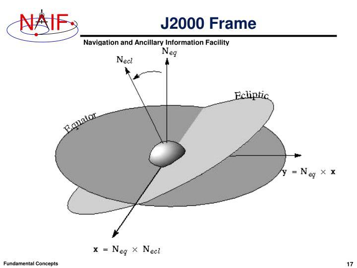J2000 Frame