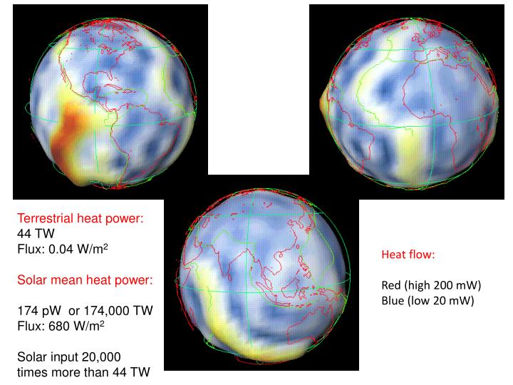 Terrestrial heat power:
