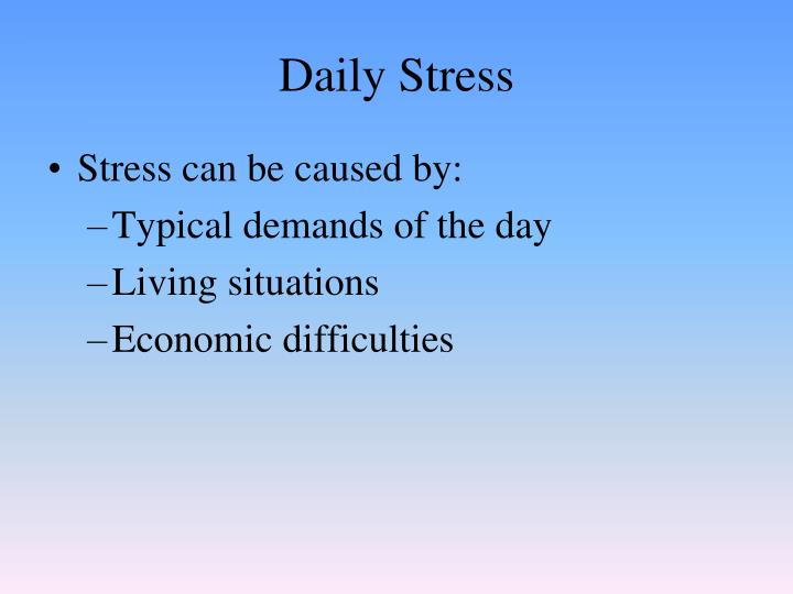 Daily Stress