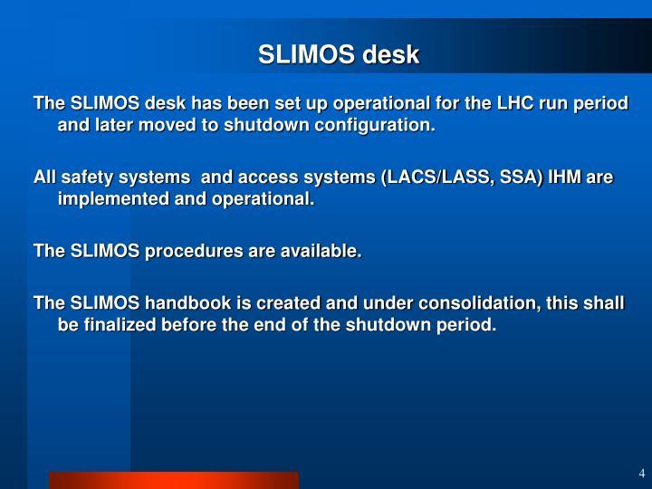 SLIMOS desk