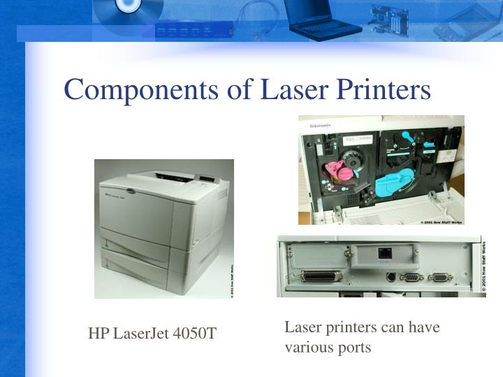 Components of Laser Printers