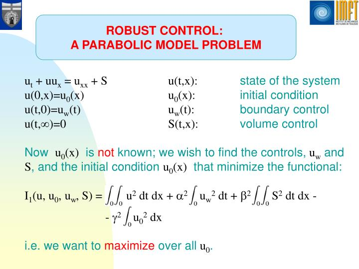 ROBUST CONTROL: