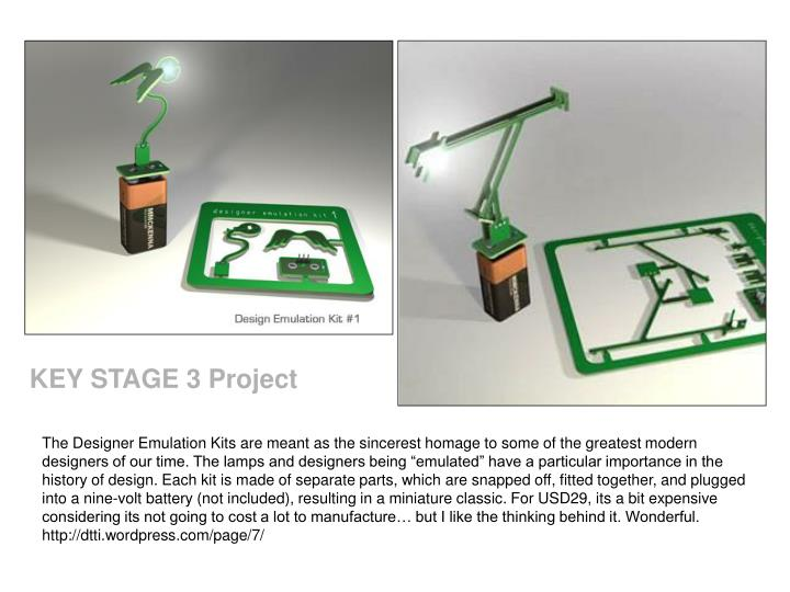 KEY STAGE 3 Project