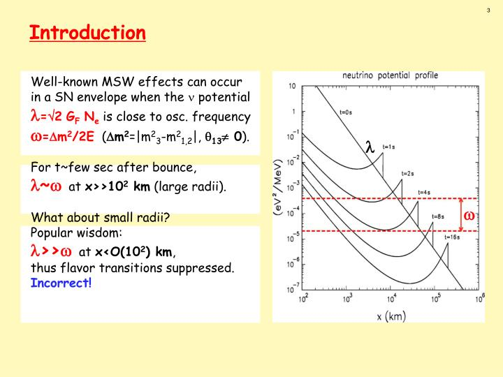 Well-known MSW effects can occur
