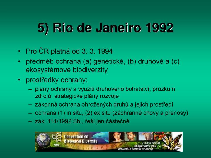 5) Rio de Janeiro 1992