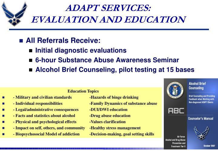 ADAPT SERVICES: