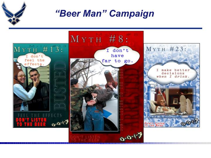 """Beer Man"" Campaign"