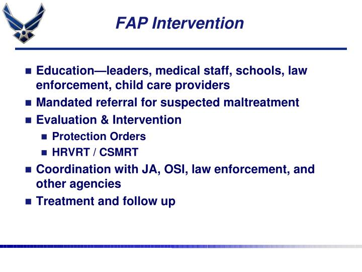 FAP Intervention