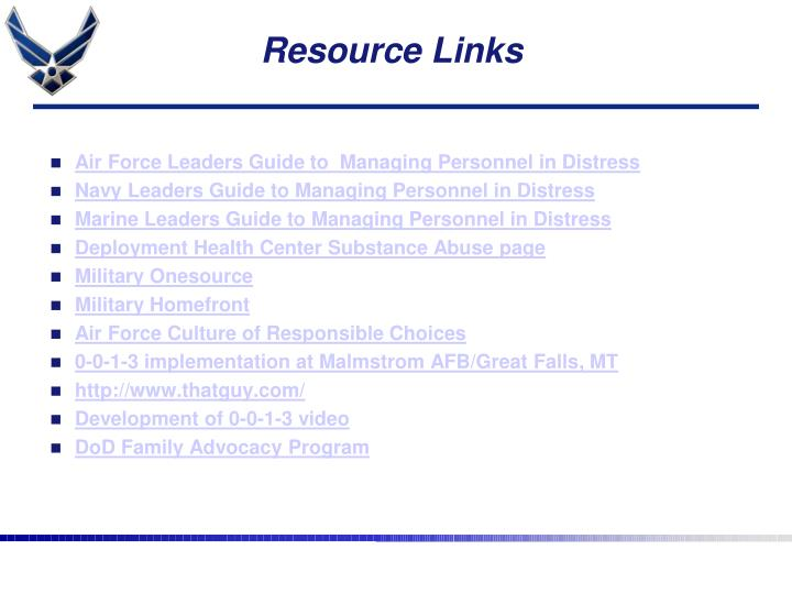 Resource Links