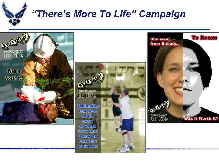 """There's More To Life"" Campaign"
