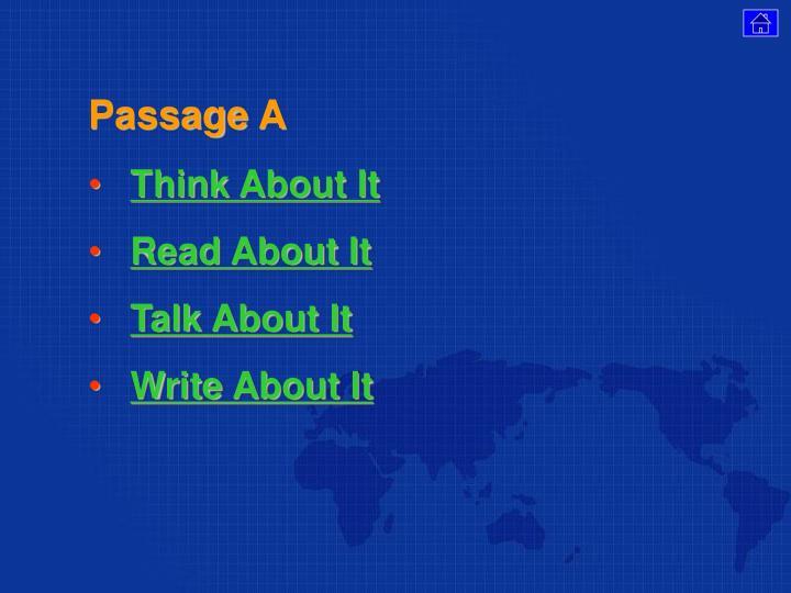 Passage A