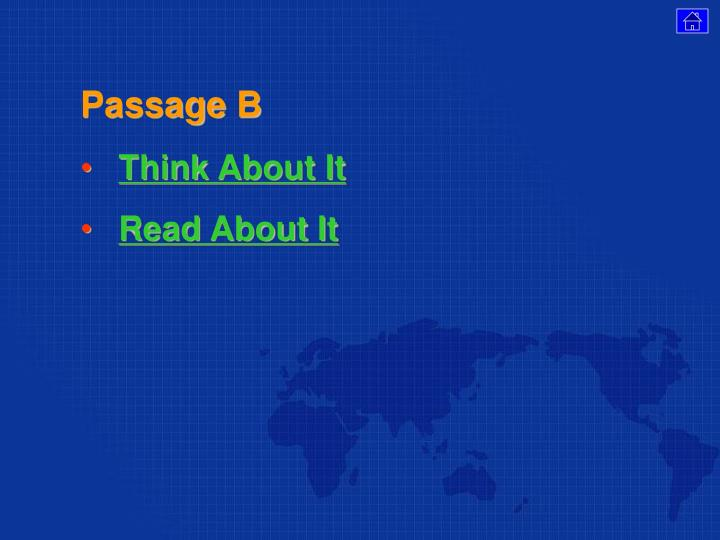 Passage B