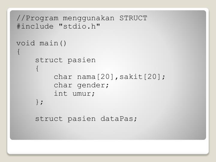 //Program