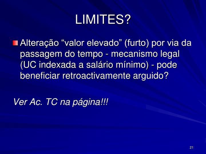 LIMITES?