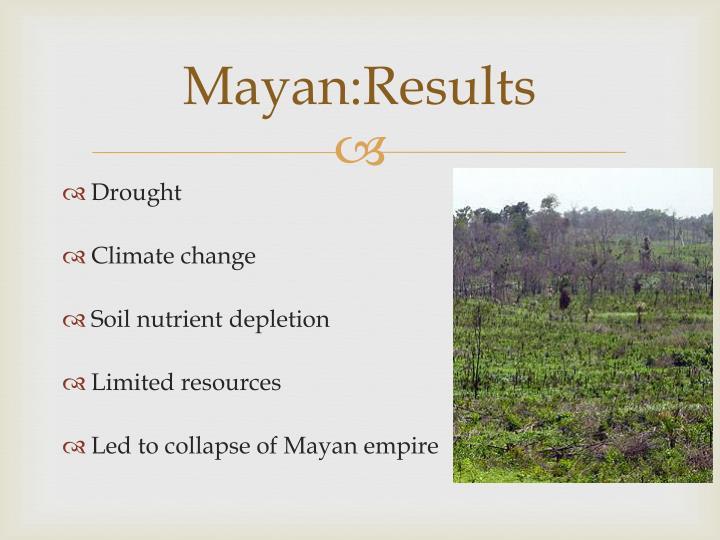 Mayan:Results