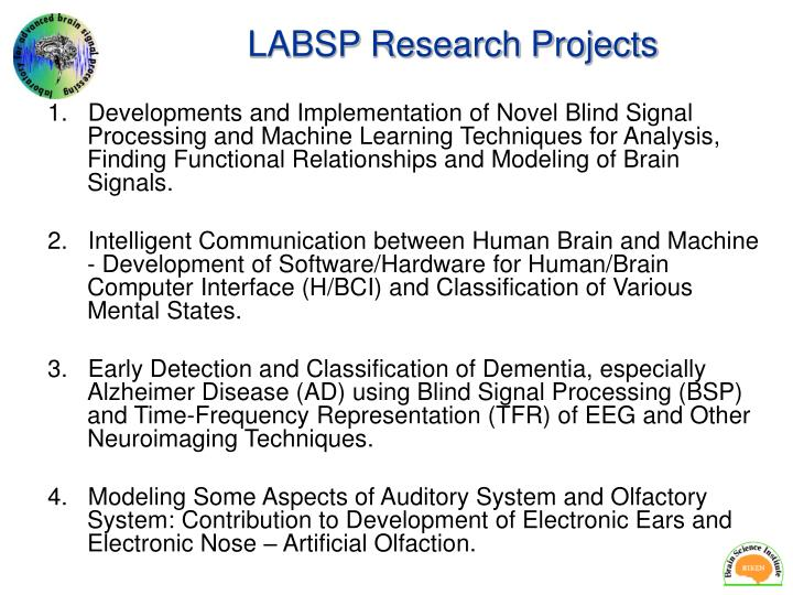 LABSP Research Projects