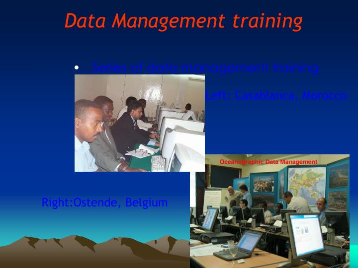 Data Management training