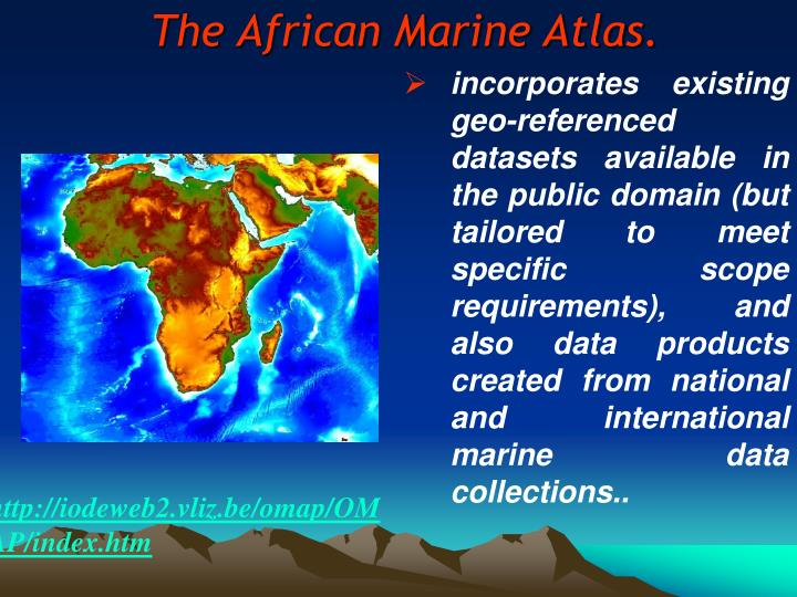 The African Marine Atlas.
