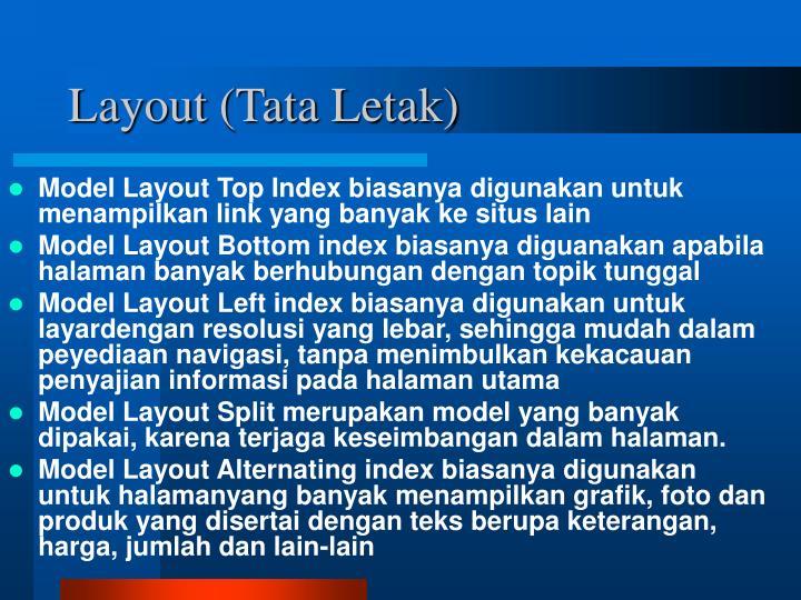 Layout (Tata Letak)