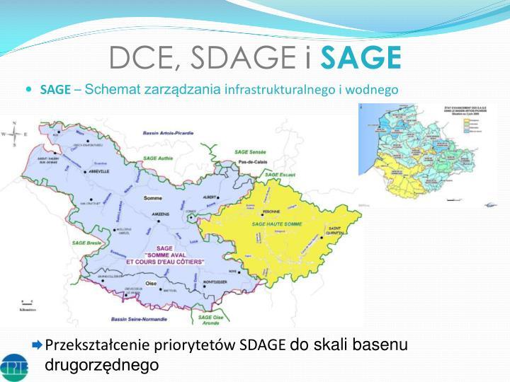 DCE, SDAGE