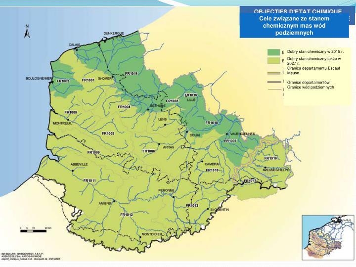 Cele związane ze stanem chemicznym mas wód podziemnych