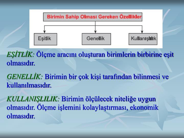 EŞİTLİK:
