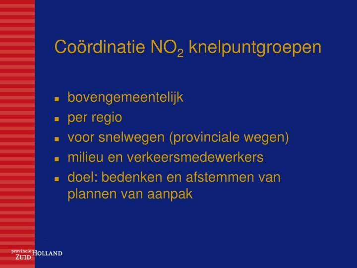 Coördinatie NO