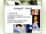 fotograf smink