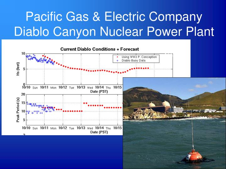 Pacific Gas & Electric Company Diablo Canyon Nuclear Power Plant