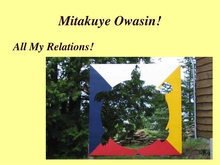 Mitakuye