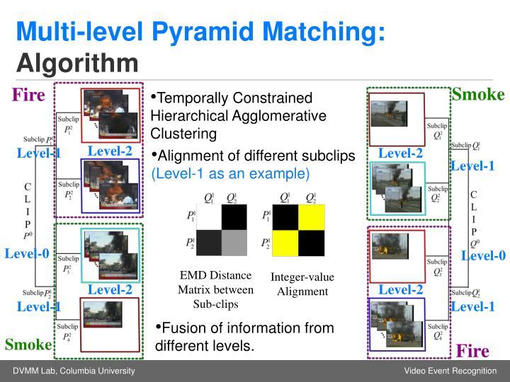 Multi-level Pyramid Matching: