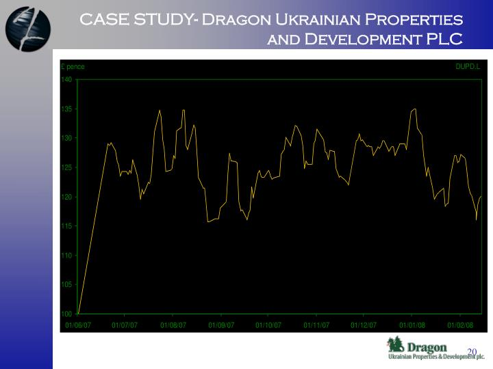 CASE STUDY- Dragon Ukrainian Properties and Development PLC