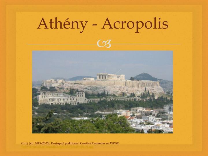 Athény -