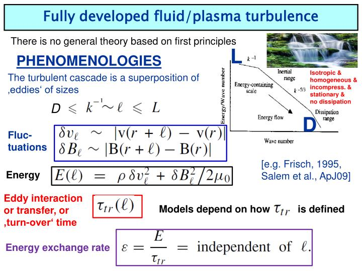 Fully developed fluid/plasma turbulence