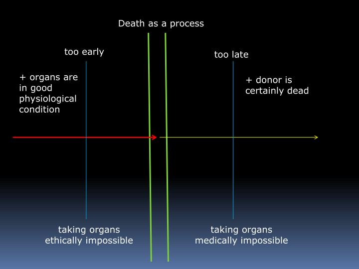 Death as a process