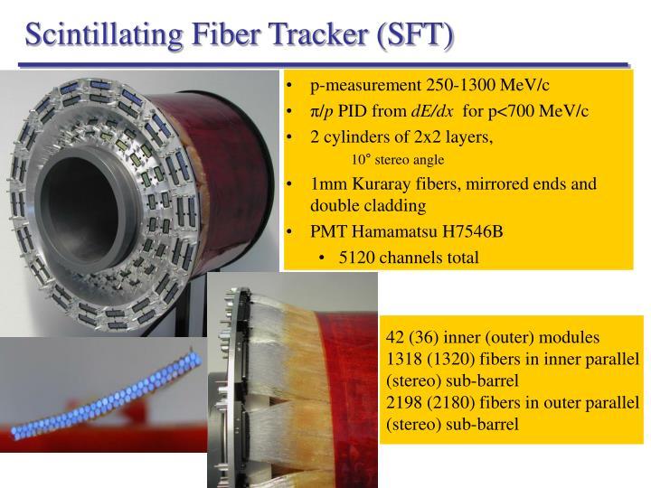 Scintillating Fiber Tracker (SFT)
