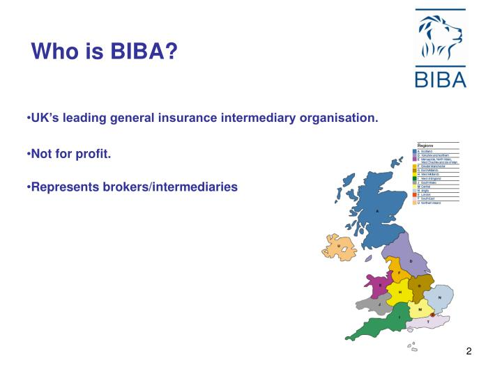Who is BIBA?