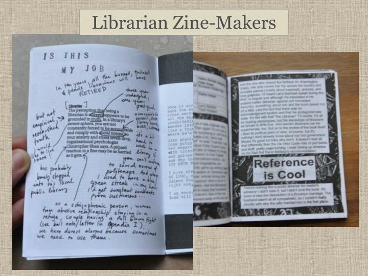 Librarian Zine-Makers