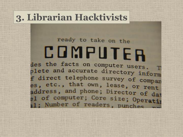 3. Librarian