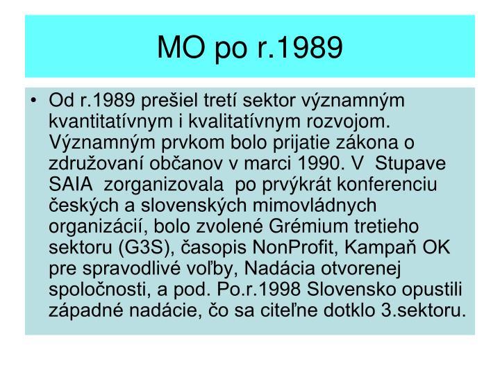 MO po r.1989