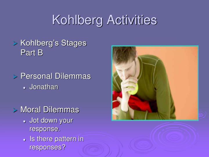Kohlberg Activities