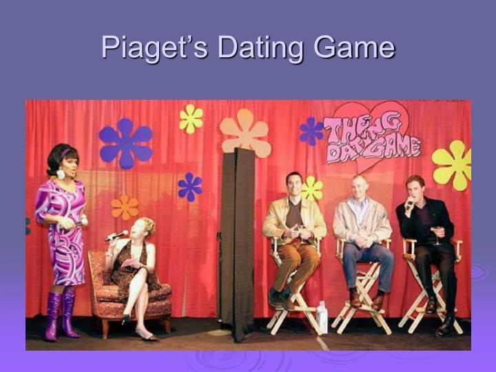 Piaget's Dating Game