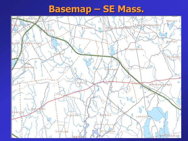 Basemap – SE Mass.