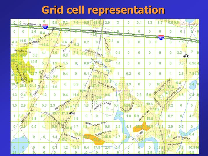 Grid cell representation